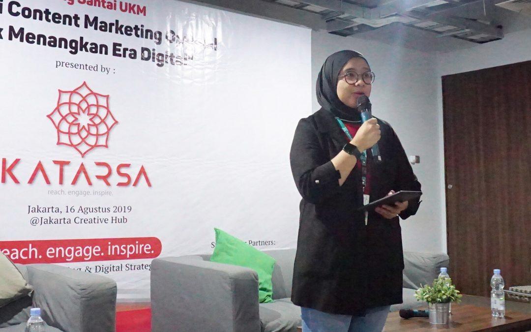 Dukung UMKM Indonesia Terus Berkembang Go Digital Lewat Edukasi Content Marketing