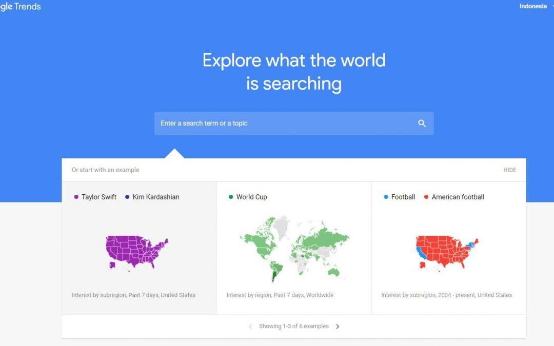 Cara Menggunakan Google Trends untuk Riset Kata Kunci